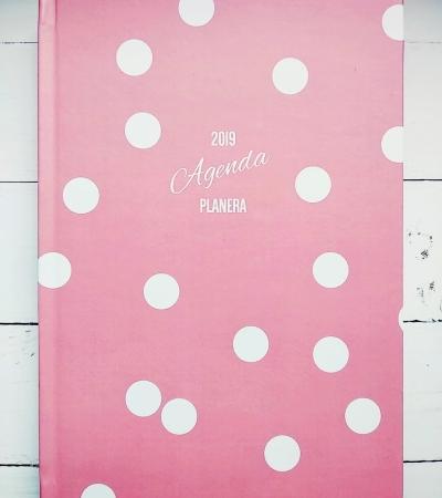 Planera 2019 roze tufne